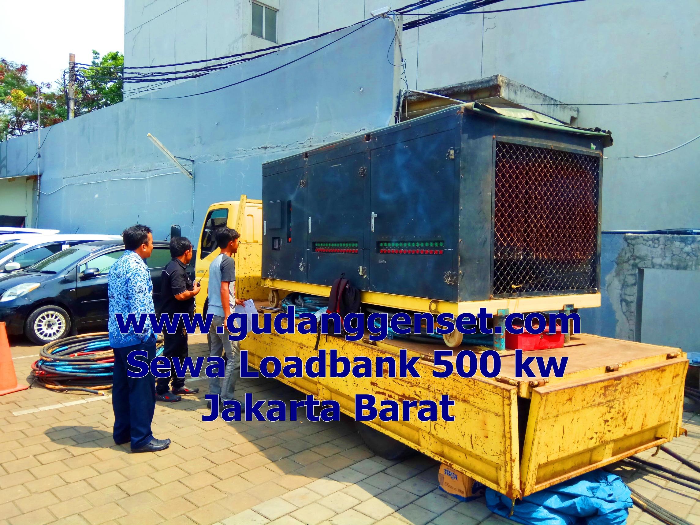 Sewa load bank 600 kw - gudanggenset 081289835207