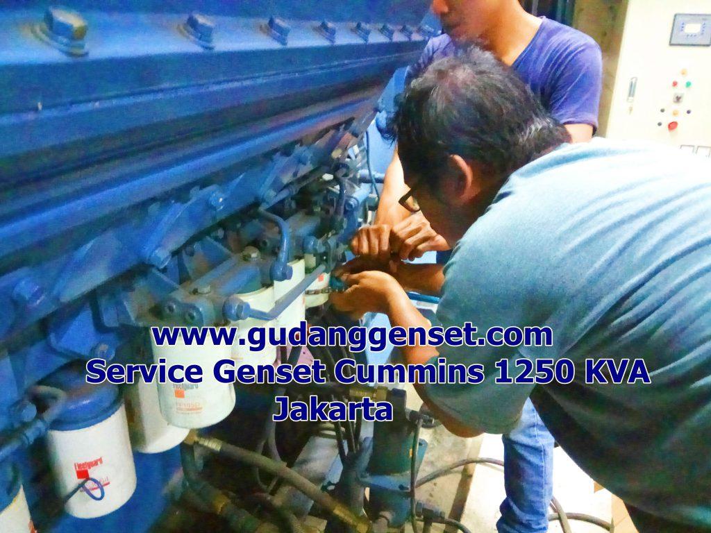 Service Genset - 081314625146