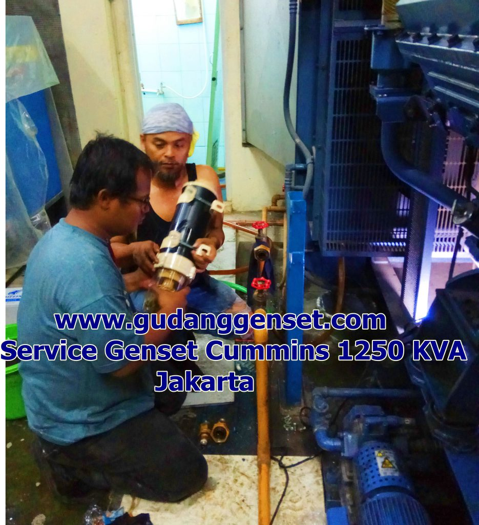 jasa service genset profesional www.gudanggenset.com