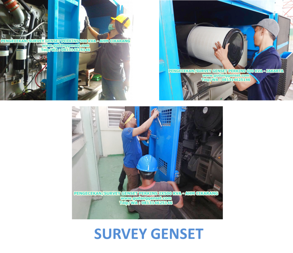 SURVEY GENSET - 081314625146