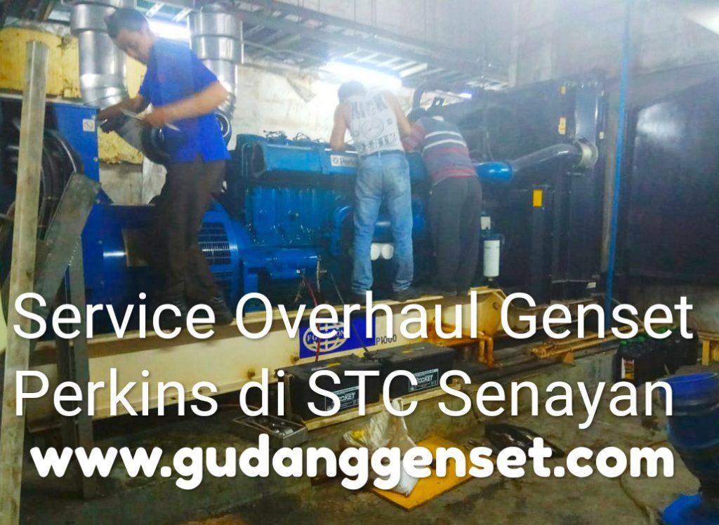 Service Genset Overhaul di STC Senayan - Jakarta