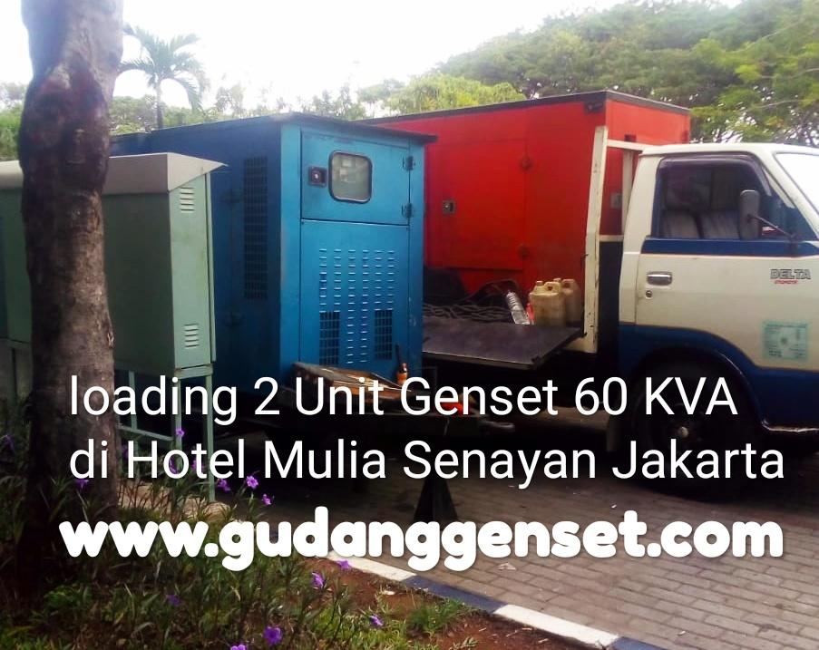 Sewa Genset untuk Event Murah Harian60 KVA - gudanggenset.com
