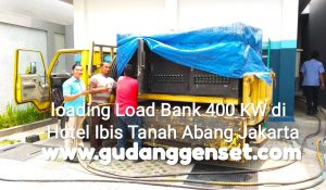 Fungsi Load bank untuk pengujian kapasitas genset di Hotel Ibis Tanah Abang Jakarta