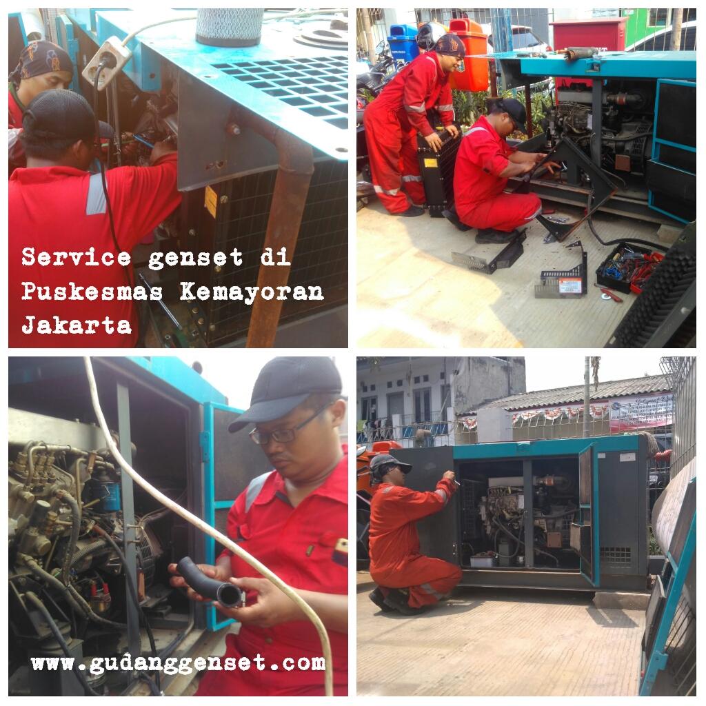 Service Genset di Puskesmas Kemayoran_Jakarta Pusat